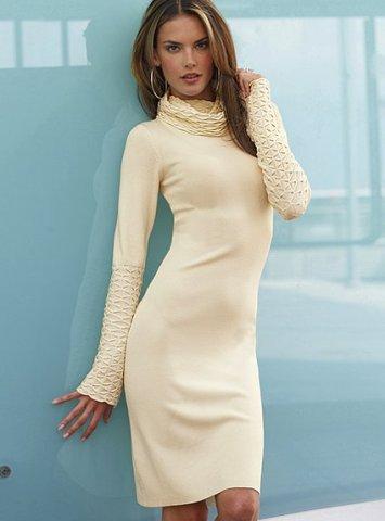 2012 Triko Elbise Modelleri