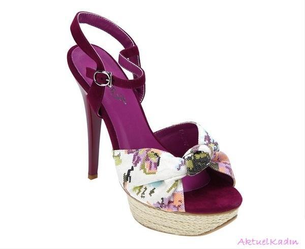 2012-2013 Flo Bayan Ayakkabı Modelleri