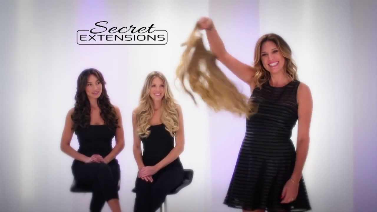 Secret Extensions ile artık saçlarınız uzun gözükücek