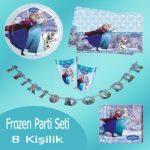 Frozen Parti Konsepti için Gerekli Malzemeler