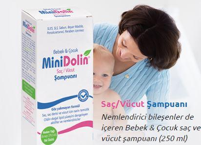 Minidolin Bebek Losyonu ile bebeklerinizi kuru havalardan koruyun!