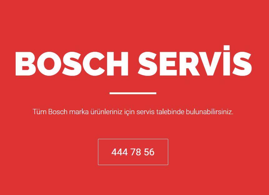 Profesyonel Bosch Teknik Servis Merkezi